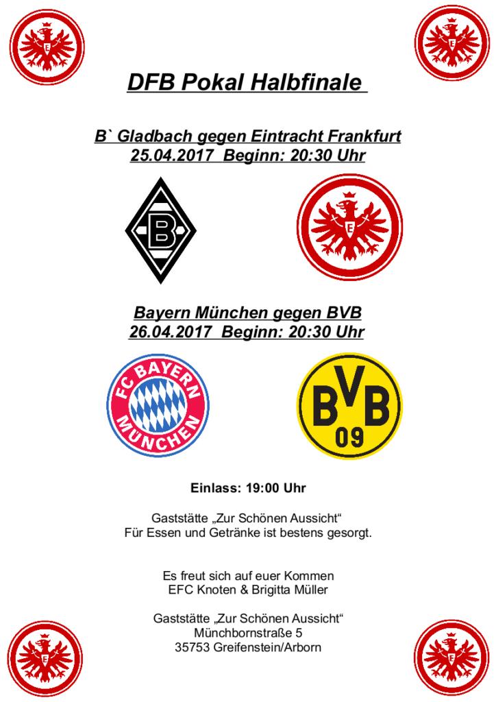 DFB Halbfinale