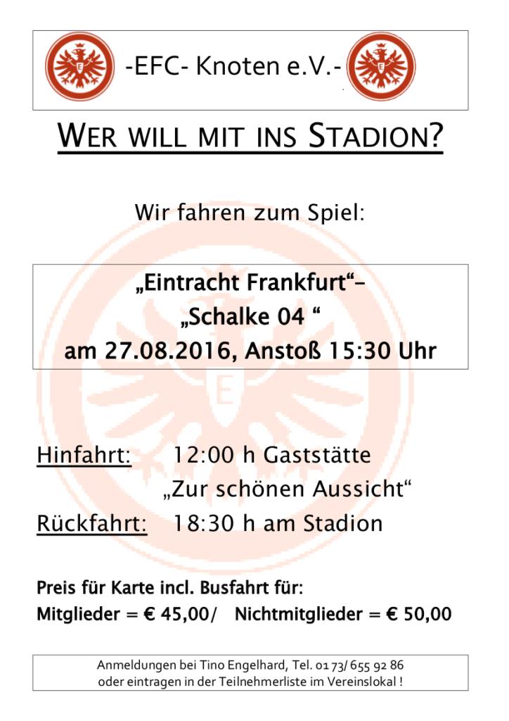 WER WILL MIT INS STADTION 27.08.16